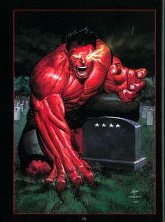 Red Hulk by John Romita Jr | HW