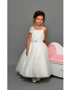 Elegant Communion Dress with Twinkling Diamantes and full skirt - Sweetie Pie 487 - NEW 2015 - Sweetie Pie Communion Dress 487 - For Girl - Girls