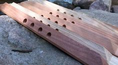 """Specially designed top bars that improve the bees efficiency, health, ability to self ventilate the nest and improves overwintering, by providing passages for the bees to efficiently migrate through the honey stores. Our Cathedral Hive """"Passage Bar"""" design is now available for the Golden Mean and Original BackYardHives"""