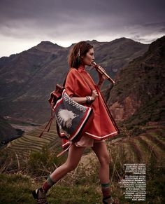 Catherine McNeil by Mariano Vivanco for Vogue Russia March 2014