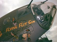 WWII in color: Rare photos from 1942 show Flying Fortress bombers and their heroic crews in The Mighty 8th Command | Mail Online