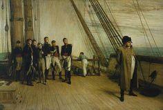 Cuando Napoleón quiso escapar rumbo a América