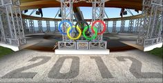 A cool London 2012 Olympic Stadium in Second Life