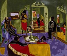 The Visitors, Jacob Lawrence (1959)