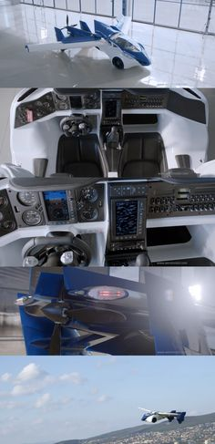 The AeroMobil 3.0 flying car prototype by Slovakian startup AeroMobil.