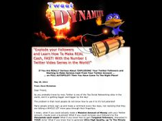 ① Tweet Dynamite | Explode Your Followers And Learn To Make Real Cash! - http://www.vnulab.be/lab-review/%e2%91%a0-tweet-dynamite-explode-your-followers-and-learn-to-make-real-cash