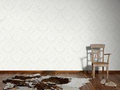 Vliestapete Barock weiß creme livingwalls 5543-38