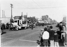 1910? Parade at 205 N. Tejon looking north