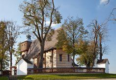 Blizne. Drewniany kościół z XV/XVI w. / Blizne. Wooden Roman Catholic Church from 15th/16th century   #Podkarpackie #Poland #UNESCO #WorldHeritageList