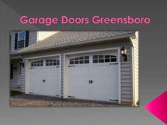 Garage Doors Greensboro actually has a lot to offer to households with garage doors for garage door needs never ends,