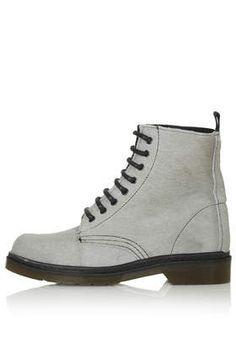 ADMIRE Pony Lace Up Boots 684ec8a71