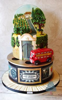 Sir Cliff Richard inspired charity cake - Cake by Donnasdelicious