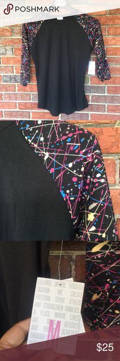 LuLaRoe Randy TShirt NWT Randy LuLaRoe shirt LuLaRoe Tops Tees - Long Sleeve