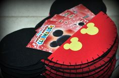 Mickey Mouse Head | Mickey Mouse Head Invites 8ct FUN FOAM by busybeecreates on Etsy