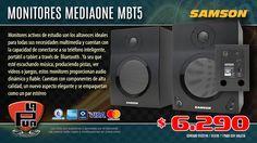 La Púa San Miguel: Monitores de Estudio SAMSON MEDIAONE MBT5 con Blue...