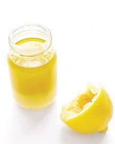 Simle Recipe: Try using this Lemon Vinaigrette to upgrade all sorts of veggies. ~by Martha Stewart