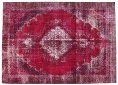 Vintage Overdyed Rug | London House Rugs #summerstyle #brightrug #pinkrug