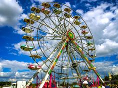 Recently, we attended the Bartlett Festival in Bartlett, Tennessee, and one of the attractions was a Ferris Wheel. Read more about it, and some history as well, at Burnsland.