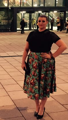 Outfit to see Caro Emerald in Leeds 18/10/14. Top Motel, skirt Lindy Bop, shoes Next
