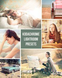 Kodachrome  Retro Film Inspired  10 Lightroom by PresetsGalore, $6.00