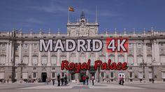 Ultra HD 4K Madrid Travel Spain Tourism Royal Palace Tourist Sights People UHD Video Stock Footage - http://quick.pw/1c6z #travel #tour #resort #holiday #travelfoodfair #vacation
