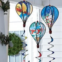 Hot Air Balloon Spinners @ Fresh Finds