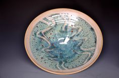 Serving Bowl Pottery Salad Bowl A on Etsy, $94.62 CAD
