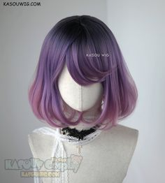 Pelo Lolita, Lolita Hair, Kawaii Hairstyles, Pretty Hairstyles, Wig Hairstyles, Kawaii Wigs, Pelo Multicolor, Manga Hair, Jenifer Lawrence