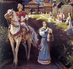 The Symbolism of Ancient Slavic Costume