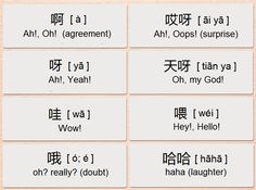 Mandarin Chinese From Scratch: Chinese Interjections