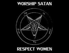 "But as for Bambam & Michael it's ""Worship Women (& trannies); Respect Satan (Allah)""!+!"