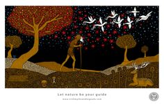 "New print available ""Let nature be your guide"""