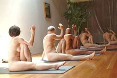 The reasons, methods and benefits of nude yoga.
