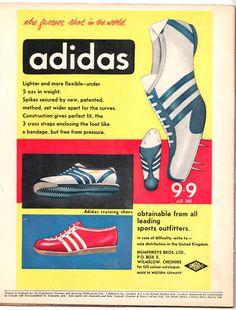 Vintage Adidas ad