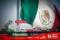 Dia de la Bandera #Aguascalientes, México