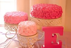 Pastry Shells: Rosette Cakes and Photo Shoots