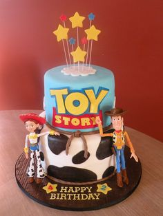 jessie & woody birthday cakes | toy story woody jessie cake for 2 siblings who love woody jessie from ...