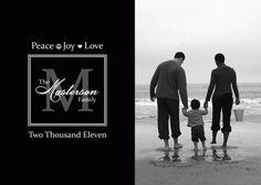 **New** Christmas Photo Card - Holiday Photo Card - Custom Photo Greeting Card