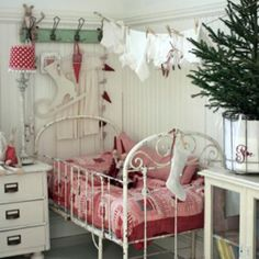 Sweet Xmas baby room