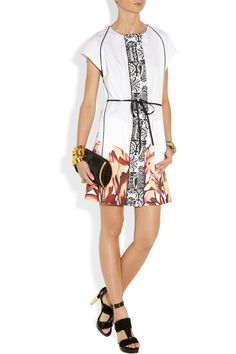 MaiyetHand-painted cotton shift dressoutfit