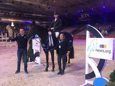 El jinete belga Benny Naessens brilló en casa la mostrar el camino del €24.700 Prijs Equnews en la apertura del CSI2* Opglabbeek - Sentower Park.