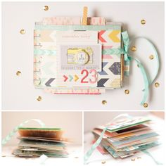 shopEvalicious.com: 23 Mini Album | Inspiration