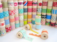Assorted Washi Tape 15 Yards of Your Choice : 226 Patterns. $15,50, via Etsy.