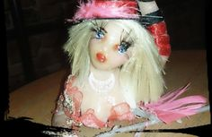 OOAK Handmade Artist, Jongleur, Fairy, Fantasie, Figur, Unikat, Handarbeit