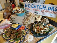 In the Kitchen with Brian and Lisa: Clams three ways Carolina Girls, North Carolina, Local Seafood, Third Way, Clams, Grocery Store, Food Dishes, Fresh, Kitchen