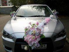 car decoration for wedding pics