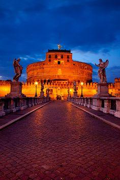 Castillo de Sant' Angelo ,Roma  Italia