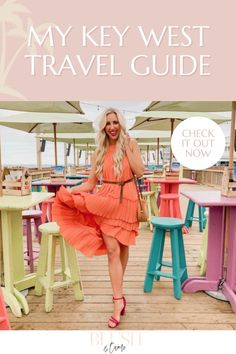 Wanting to plan a tropical vacation in the US? Check out my Key West travel guide. Warning: You might fall in love with this amazing destination! #keywest #keywesttravelguide #whattodoinkeywest #fl #flvacation #floridavacation #wheretogoinflorida