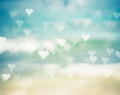 abstract photography hearts nautical decor beach by mylittlepixels, $25.00