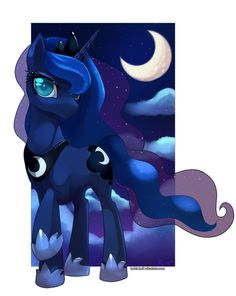 Beautiful Luna, wish there was more of Celestia like this
